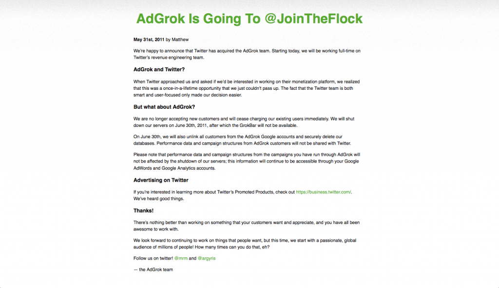 AdGrok_Is_Going_To__JoinTheFlock___AdGrok