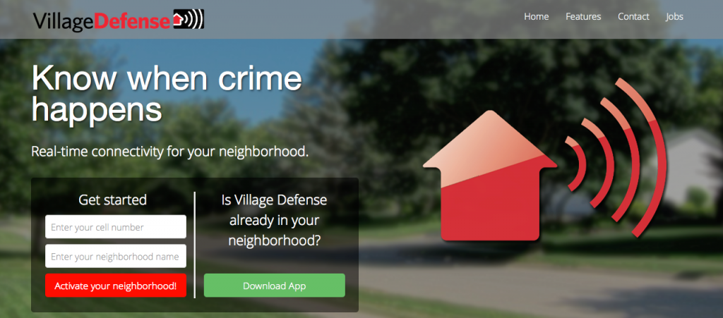 Village_Defense___Real-time_crime_alerts_for_your_neighborhood